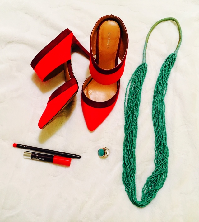 Red and turquoise 2